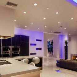 house room recessed lighting